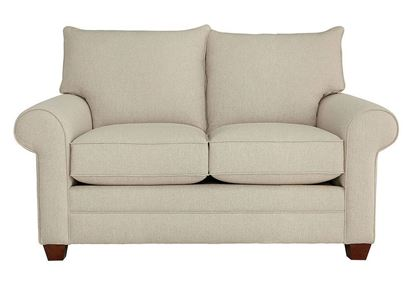 Alexander Loveseat (2712-42) in a Straw fabric