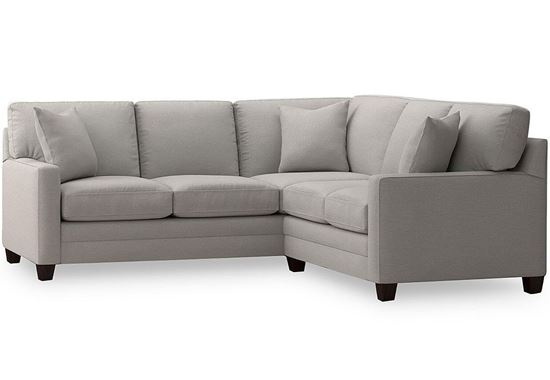 American Casual Small Ladson Sectional (3105-LSECTFSL)