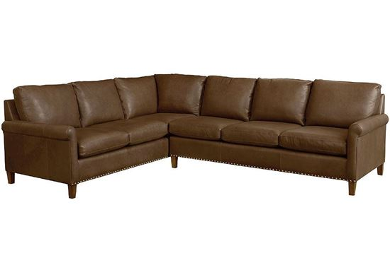 American Casual - Wellington Large Leather Sectional (3119-LSECTLL)
