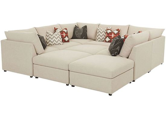 Beckham Pit Sectional (2676-PSECT)