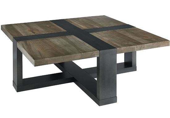 Bench*Made Maple Skyline Square Cocktail Table 6015-0615T
