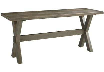 "Bench*Made Maple Crossbuck 70"" Desk 6015-7024X"