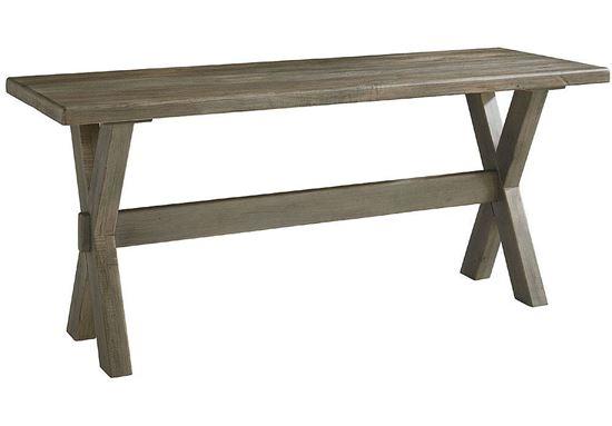 "Bench*Made Maple Crossbuck 70"" Desk 6015-7024X"