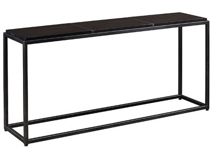 Bench*Made Midtown Console Table (6M19-0699) with Black-Nickel base finish