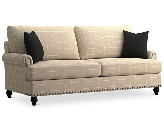 Custom Upholstery Small Studio Sofa (C000-62DT)