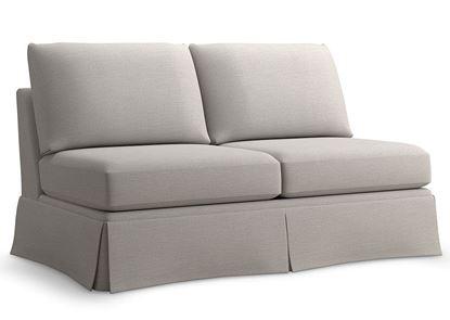 Custom Upholstery Armless Standalone Sofa C000-50SD