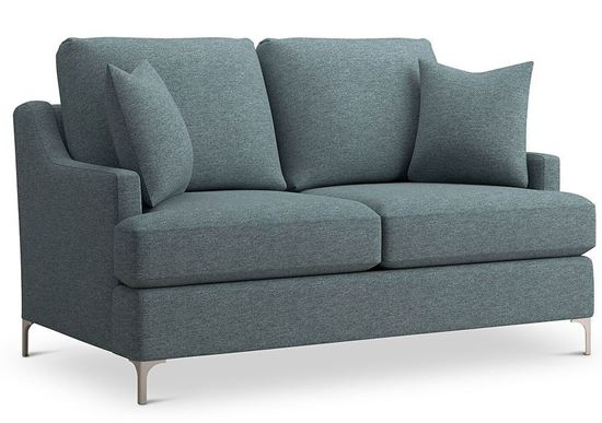 Custom Upholstery Cottage Sofa C000-42ST with Charles of London arms