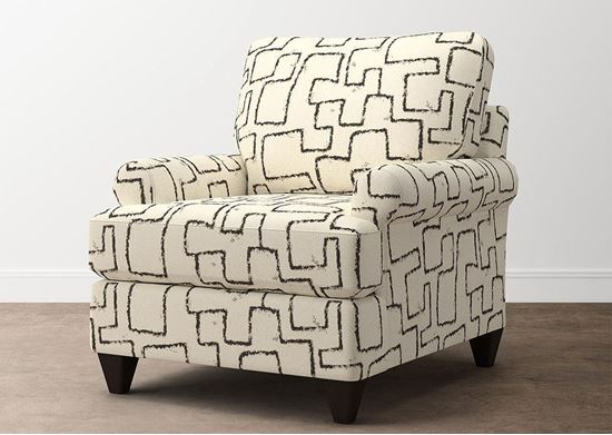 Custom Upholstery T-Front Chair C000-12DT