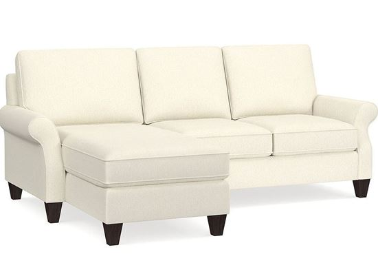 Davenport Small Left Chaise Sectional 2716-LCSECTS