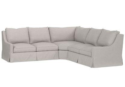 Designer Comfort Exeter Sectional (2646-LSECTLS)