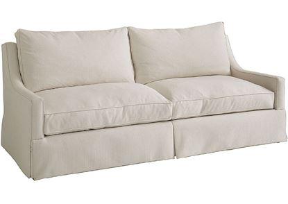 Designer Comfort Exeter Sofa (2646-62) with Waterfall Skirt