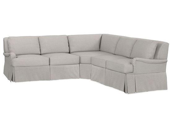 Designer Comfort Bridgewater Small Sectional (2636-LSECTLS)
