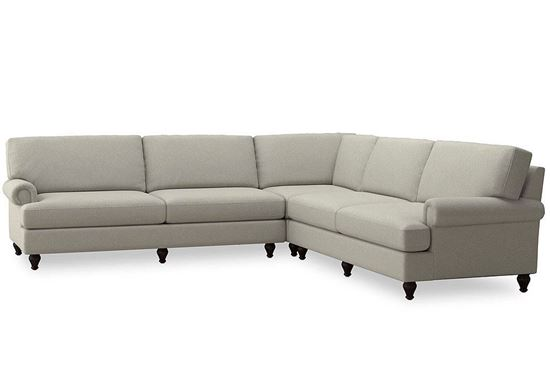 Hunter L-Shaped Sectional (2684-LSECTL) with a Rain fabric