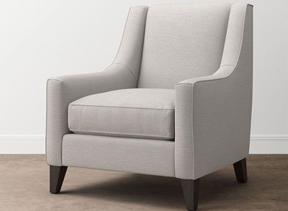 Lauren Accent Chair (2069-02) with a Casual Boucle Texture Gray fabric