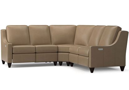 Magnificent Motion Reclining Leather Sectional (M000-LSECT3L)