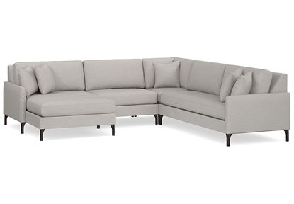 Modern - Serafina U-Shaped Sectional (2658-ULSECTB)