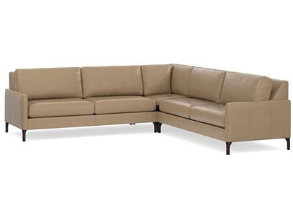 MODERN - Serafina L-Shaped Leather Sectional (2658-LSECTLL)