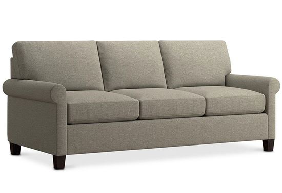 Spencer Sofa (2714-72) in a Texture Dove fabric