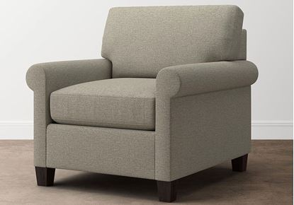 Spencer Chair 2714-12 in a Texture Dove fabric