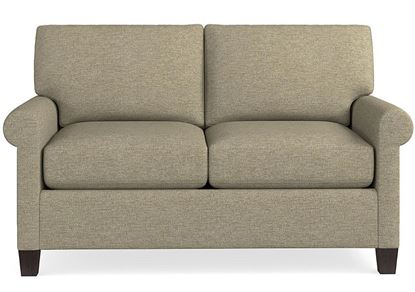 Spencer Loveseat (2714-42) in a Texture Seamist fabric