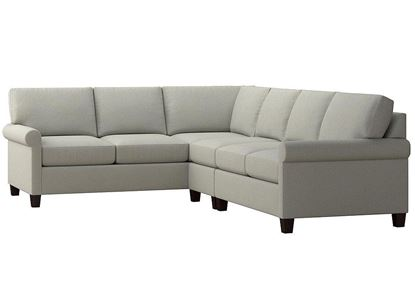 Spencer Large L-Shaped Sectional (2714-LSECTLFC15) in a Seamist fabric