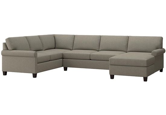 Spencer U-Shaped Sectional (2714-USECTFC15) in a Seamist fabric