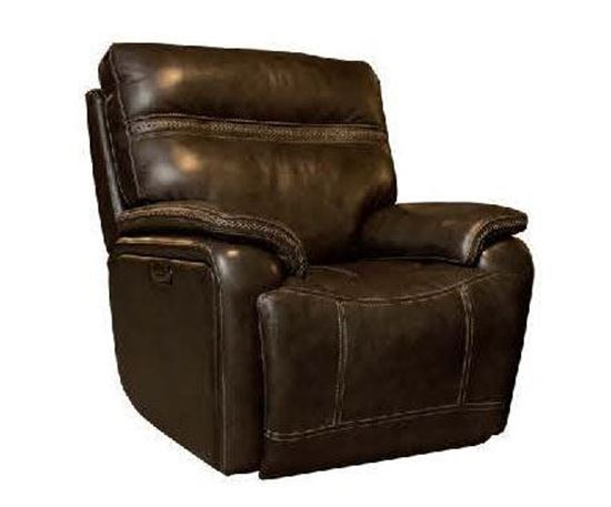 Grant Wall saver Recliner w/ Power (3737-P0) in a Truffle leather option
