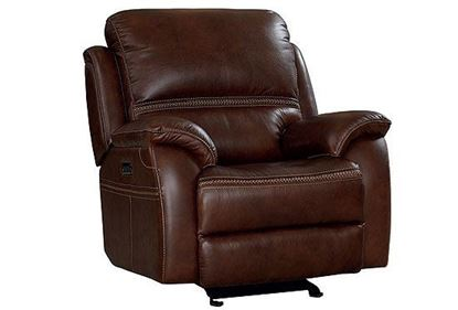 Williams Reclining Glider 3731-P9 in a Kobe leather option