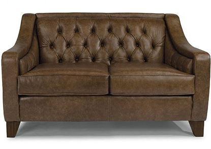 Sullivan Leather Loveseat (3103-20)