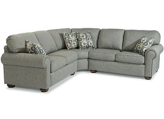 Preston Sectional with Nailhead Trim (5536-SECT)