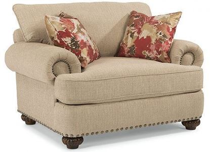 Patterson Chair with Nailhead Trim (7322-10)
