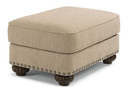 Patterson Ottoman with Nailhead Trim (7322-08)