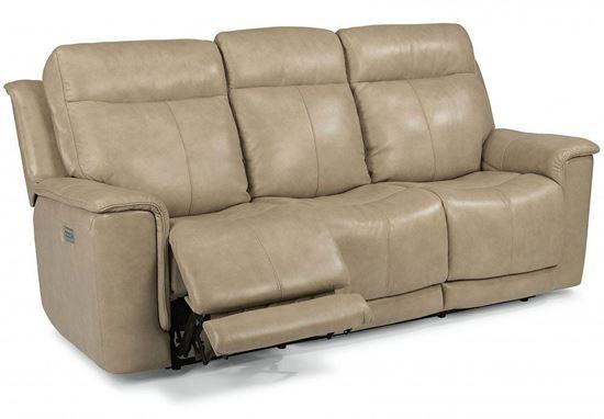 Miller Power Reclining Sofa with Power Headrest (1729-62PH)