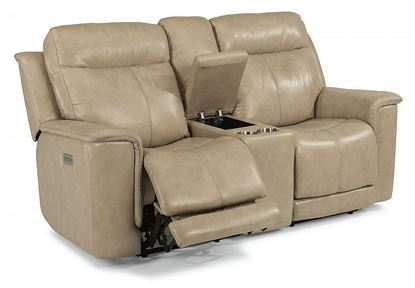 Miller Reclining Loveseat with Console (1729-64PH)
