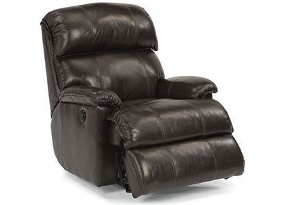 Geneva Leather Power Rocking Recliner (3012-510M)