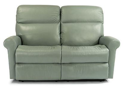 Davis Leather Reclining Loveseat (3902-60M)