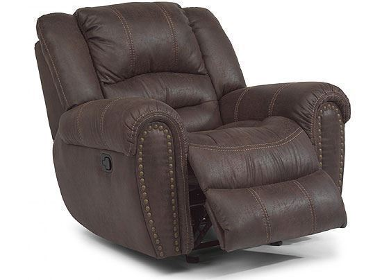 Town Leather Recliner with Power Headrest (1010-50PH)