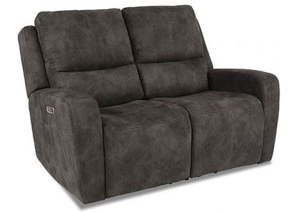 Aiden Reclining Loveseat with Power Headrest (1039-60PH)