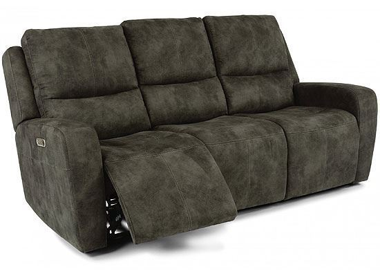 Aiden Reclining Sofa with Power Headrest (1039-62PH)