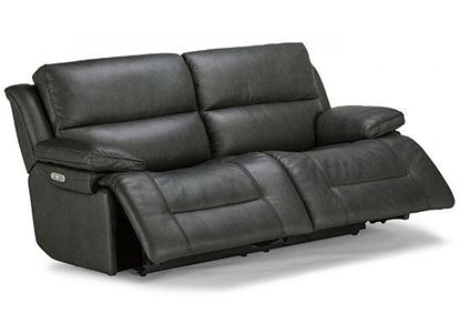 Apollo Power Reclining Leather Sofa with Power Headrest (1849-62PH)