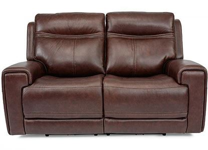 Bravo Reclining Loveseat with Power Headrest (1180-60PH)