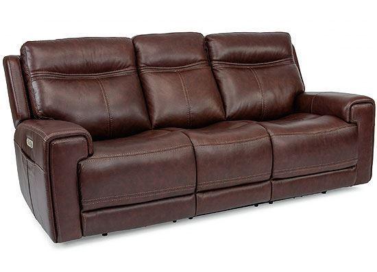 Bravo Power Reclining Sofa with Power Headrest (1180-62PH)