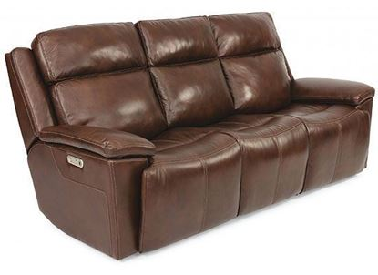 Chance Reclining Sofa with Power Headrest (1187-62PH)