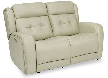 Grant Reclining Loveseat with Power Headrest (1480-60PH)
