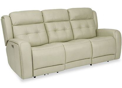 Grant Reclining Sofa with Power Headrest (1480-62PH)