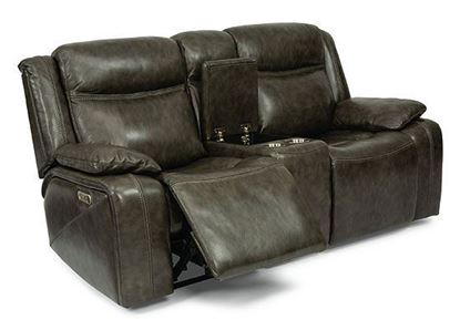 Journey Reclining Loveseat with Console (1498-64PH)