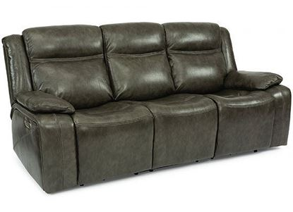 Journey Reclining Sofa with Power Headrest (1498-62PH)