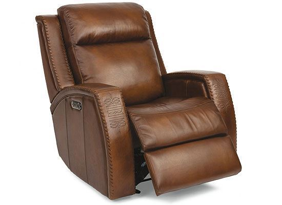 Mustang Gliding Recliner with Power Headrest (1873-54PH)