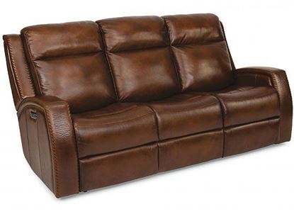 Mustang Reclining Sofa with Power Headrest (1873-62PH)