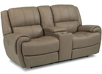 Nance Reclining Loveseat with Console (1179-64PH)